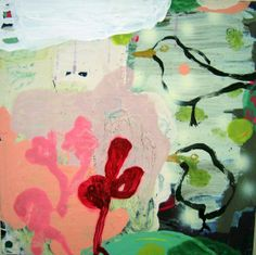 Abstract paintings by Danish artist Jette Segnitz. Acrylic on canvas. See more art on www.segnitz.dk