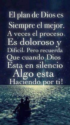Así lo creo y así es, Dios conmigo y Yo siempre junto a él.
