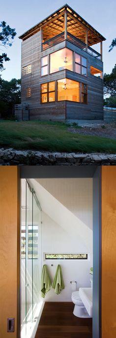 A modern Tower House in Texas #homedesignlover #homedesign #homeideas #homedecor #homedecorideas