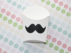 10 Mustache French Fry Food Container Chalkboard Labels Paper Goods Wedding Baby Shower Kids Birthday Party BBQ Picnic Carnival Favors