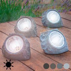 Piedra Artificial Solar (4 LED) - 339