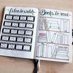 Bullet Journal Tracker, Bullet Journal Inspo, Bullet Journal Notebook, Bullet Journal Ideas Pages, Bullet Journal Layout, Journal Pages, Books To Read Bullet Journal, Bullet Journal Entries, Blog Planner