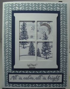 Happy Scenes, Hearth & Home Thinlits, hand made cards by Stampin' Up!, English Gardens Designer Paper,