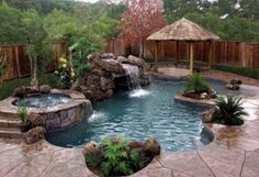 212 best Pools & Spas images on Pinterest | Home and garden, Dream Zero Entry Backyard Oasis Ideas Html on