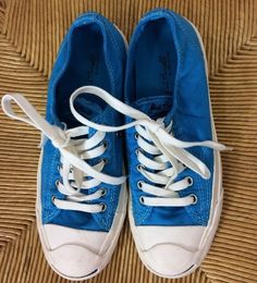 c3e8b0c174f2 Jack Purcell Converse Sneakers Shoes Blue Men s 6 Womens 7.5