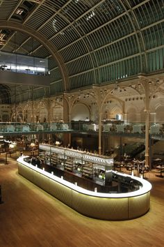 Designers shortlisted for a Restaurant and Bard Design Award for the champagne bar at the Paul Hamlyn Hall, Royal Opera House London Covent Garden, Cafe Restaurant, Restaurant Design, Santa Lucia, Royal Opera House London, Central Bar, Luxury Bar, Bar Interior Design, Bar Design Awards