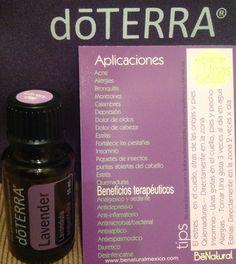 Aceite Esencial doTERRA de Lavanda