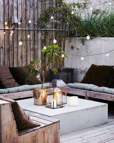 """The Everygirl (@theeverygirl_) on Instagram: """"The snow can't stop us from dreaming of warmer days, so we're planning our outdoor patio situation…"""""""