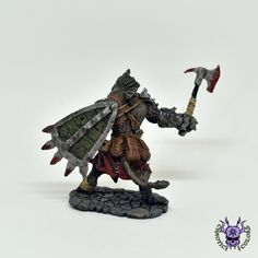 D&D - Gnoll Warrior, Bloodmane (by Reaper Miniatures) #ChaoticColors #commissionpainting #paintingcommission #painting #miniatures #paintingminiatures #wargaming #Miniaturepainting #Tabletopgames #Wargaming #Scalemodel #Miniatures #art #creative #photooftheday #hobby #dungeonsanddragons #dnd #frostgrave #rpg #roleplay #paintingwarhammer  #ageofsigmar #whfb #fantasy #warhammerfantasy #Kingsofwar #kow #kingsofwarvanguard #reaper #reaperminiatures #GnollWarriorBloodmane #Gnoll #Warrior… Warhammer Fantasy, Warhammer 40k, Dungeons And Dragons, Age Of Sigmar, Reaper Miniatures, Tabletop Games, Creative, Painting, Board Games