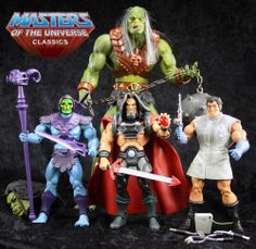 Masters of the Universe Classics lot rare mo-larr count marzo megator motuc motu Modern Toys, Collectible Toys, Model Hobbies, My Childhood Memories, Vintage Toys, Statues, Cool Art, Action Figures, Batman