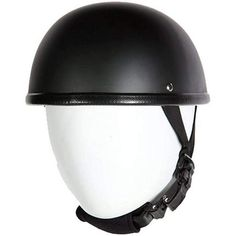 MOTORCYCLE FLAT GREY DOT APPROVED HALF HELMET WITH GREY HORNED SKELETONS NEW