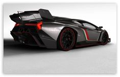 2013 Lamborghini Veneno Rear ❤ 4K HD Desktop Wallpaper for 4K Ultra HD TV • Wide & Ultra Widescreen Displays • Dual Monitor Desktops • Tablet • Smartphone • Mobile Devices