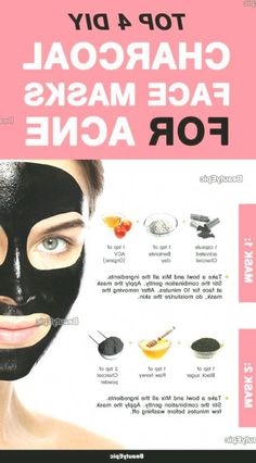 Charcoal Mask for Acne: Benefits and Top 4 DIY Recipes,  #Acne #Benefits #Charcoal #DIY #Mask #Recipes #Top #FaceMoisturizerForOilySkin #CharcoalMaskPeel Homemade Charcoal Mask, Charcoal Mask For Acne, Charcoal Mask Benefits, Best Peel Off Mask, Cucumber Face Mask, Banana Face Mask, Aloe Vera Face Mask, Moisturizer For Oily Skin, Face Scrub Homemade