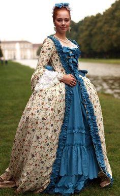 1700s.... I So wish women could still dress like this. Incredible… Ich wünsche, dass sich Frauen immer noch so kleiden könnten, unglaublich
