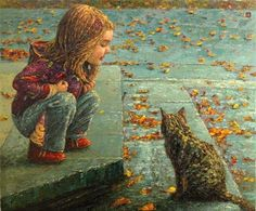 idk why but I just love this picture. Andrey Esipov (1969, Russian)