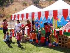 Carnival Party Ideas : Carnival Decoration Ideas – Backyard and ...
