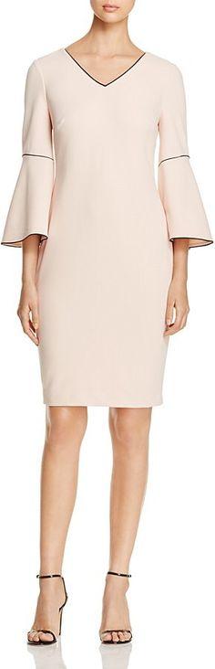 Calvin Klein Bell Sleeve Dress - 100% Exclusive