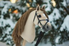 "Hobbyhorse ""Sandybell"" Horse Stables, Horse Tack, Horse Galloping, Stick Horses, Unicorn Horse, Horse Crafts, Hobby Horse, N21, Horse Head"