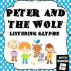 Peter and the Wolf listening graphics - cute