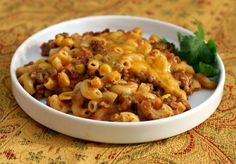 Simple One-Skillet Tex-Mex Mac 'n Cheese with Beef