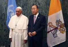 Pope Francis addresses the United Nations on New York City visit