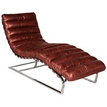 Buy Halo Joel Leather Chair, Antique Whisky from our Chaise Longues range at John Lewis & Partners. Thrift Store Furniture, Furniture Showroom, Recycled Furniture, Large Furniture, Online Furniture, Cool Furniture, Outdoor Furniture, Vintage Chairs, City Living