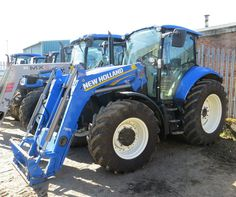 New Holland T5.105 - £33,950 - Quality used New Holland tractors from C&O Tractors - June 2016