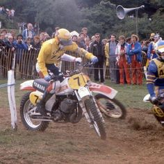 Youth Dirt Bikes, Yamaha Motocross, Old Scool, Vintage Motocross, Old Bikes, Sidecar, Racing, Classic, 80s Style