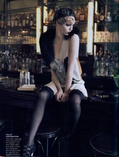 1920s, 20s, flapper, paris, vogue