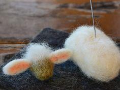 ein Schaf filzen - eine Anleitung