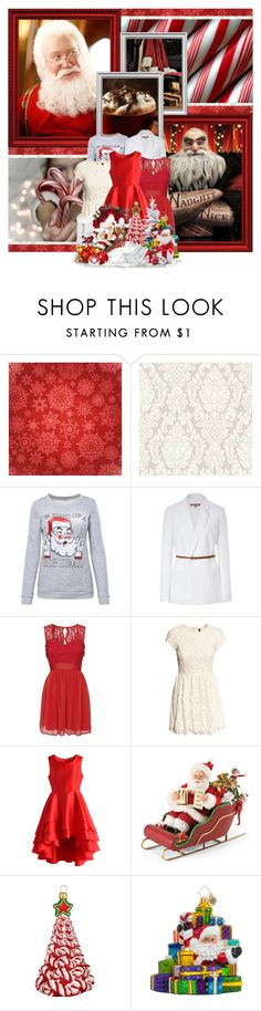 """""""As long as one child believes, we will be here to fight fear."""" by disney-parxdise ❤ liked on Polyvore featuring Michael Kors, Elise Ryan, H&M, Chicwish, Improvements, Joy To the World and Christopher Radko"""