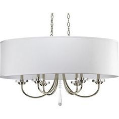 Thomasville Lighting PP4431104 Nisse Mid Sized Chandelier Chandelier - Polished Nickel $600
