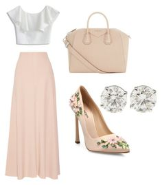 """Love this look"" by fatimayassine on Polyvore featuring The Row, Chicwish, Giambattista Valli and Givenchy"