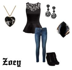 """""""Zoey"""" by shaunatamplen on Polyvore"""