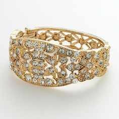 Faux everything cuff bracelet from LC Lauren Conrad collection at Kohl's.