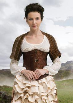 Outlander the Series: Claire's Heroic Healing Shrug (Crochet) - Lion Brand Yarn Crochet Lion, Knit Or Crochet, Crochet Scarves, Crochet Clothes, Crochet Wraps, Crochet Sweaters, Crochet Things, Diy Clothes, Knitting Kits