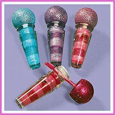 12 Diva Rock Star Microphone Lip Gloss Favors