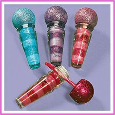 This microphone nail polish would be the cutest party favors!