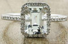 angelina jolie engagement ring emerald cut diamond engagement rings vintage Ken Dana