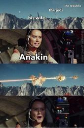 """This Fresh Star Wars Meme Is All About Destruction & Fake Solutions - Funny memes that """"GET IT"""" and want you to too. Get the latest funniest memes and keep up what is going on in the meme-o-sphere. Really Funny Memes, Stupid Funny Memes, Funny Relatable Memes, The Funny, 9gag Funny, Star Wars Witze, Star Wars Jokes, Memes Humor, Funny Images"""