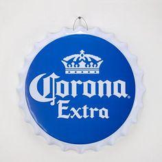 CYRG Corona Light Bottle Cap Shaped Beer Wall Décor