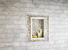 Add a little sparkle to your next tile project with Keshi – a chic blend of shell, metal, and glass offering incredible style.