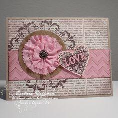 Stampin' Up! Valentine  by Barbara Raffman at Barbara's Craft Circle