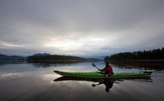 Truly #unplug - kayaking in Kyuquot, off the beaten path!  Check out West Coast Expeditions!  #kayak #canada