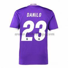 Fotbollströjor Real Madrid 2016-17 Danilo 23 Bortatröja