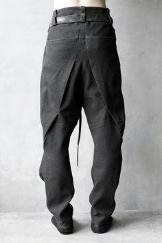 Trouser back