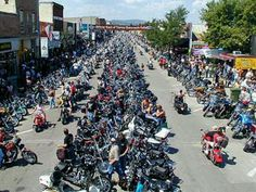 Annual Sturgis Motorcycle Rally in Sturgis, SD.