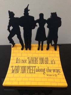It is not where you go… it's who you meet along the way. - Google Search
