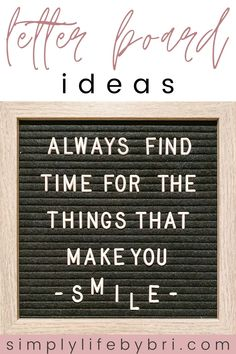 Motivational letter board quotes to get you out of bed | student life