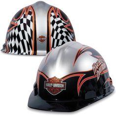 H-D Racing Hard Hat #HDNaughtyList